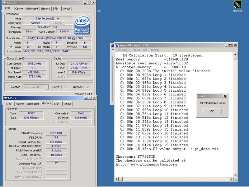+xx% d'OC pas mal ces petits E2140 - Page 3 SuperPi-1M_E2140_P5K-Premium_SS_